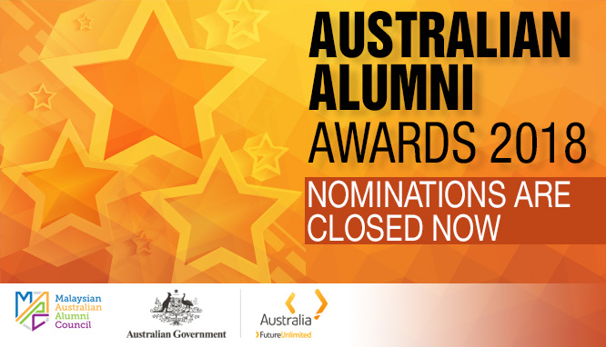 Nominate your Alumni for the Australian Alumni Awards 2018